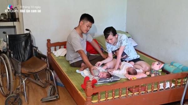 Chồng bị liệt vẫn cố có con với mẹ đơn thân Thái Nguyên, ngày lên chức bố khóc nghẹn