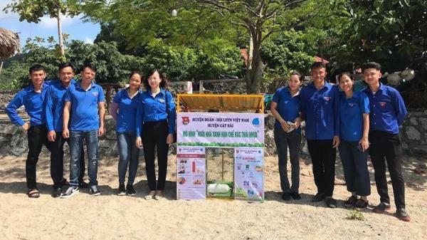 Thanh niên Hải Phòng triển khai nhiều mô hình cộng đồng phòng chống rác thải nhựa có ý nghĩa thiết thực