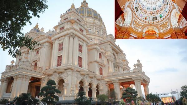 """Choáng ngợp kiến trúc bên trong """"cung điện"""" 1.000 tỷ của đại gia Việt Nam"""