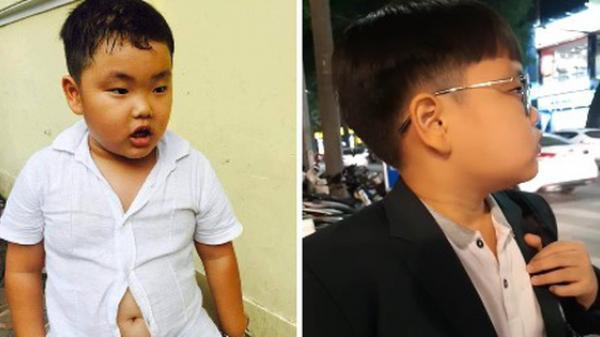 """Con trai Xuân Bắc mặt đờ đẫn, quần áo xộc xệch 6 năm trước thay đổi ngoạn mục với style """"Chủ tịch"""""""