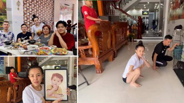 Dẫn Lương Bằng Quang về thăm nhà, Ngân 98 tự hào khoe cơ ngơi 8 tầng, hoành tráng