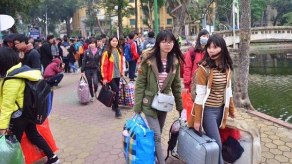 Lịch nghỉ Tết Nguyên đán 2021 của sinh viên: Dài nhất là 49 ngày