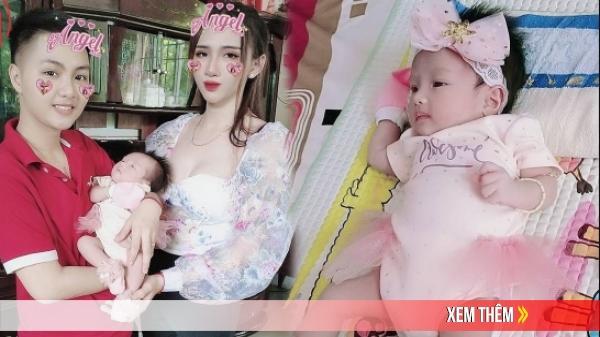 """Ngoại hình đáng yêu của con gái """"người đàn ông"""" Việt đầu tiên sinh con"""