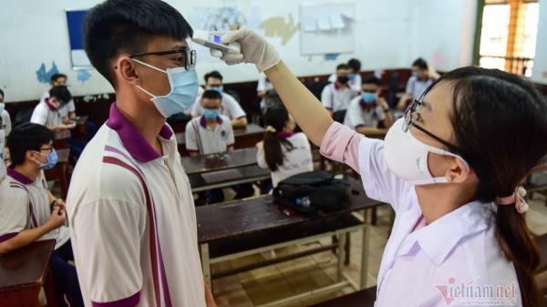 Đà Nẵng rà soát sức khỏe của gần 11.000 thí sinh dự thi tốt nghiệp THPT