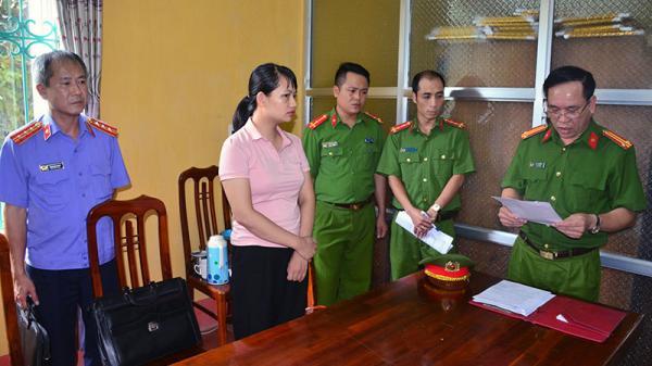 Tuyên Quang: Khởi tố nữ kế toán tham ô gần hai tỷ đồng