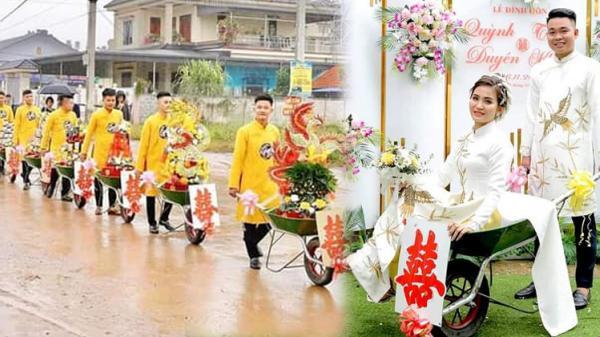 Dàn 'siêu xe khủng' trong đám hỏi ở Thái Nguyên gây 'bão mạng', có trị giá gần... 2,5 triệu đồng