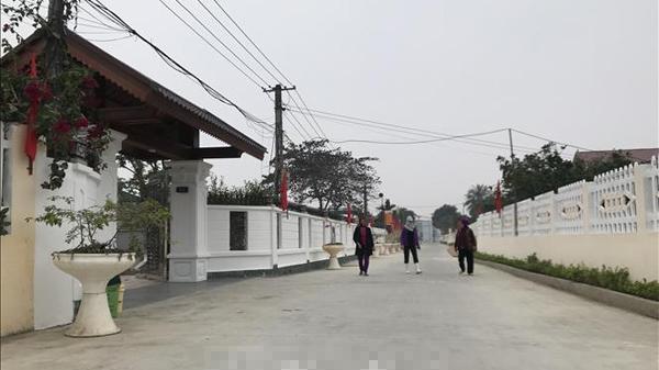 Đổi thay vùng nông thôn mới kiểu mẫu đầu tiên ở xứ Thanh