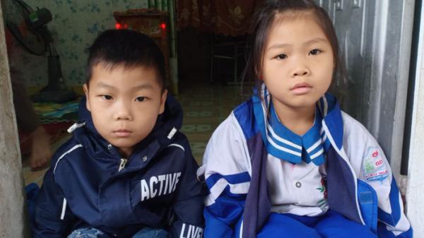"""2 con thơ cùng lúc mắc chung căn bệnh qu.ái á.c, người mẹ nghèo bất lực cầu cứu: """"Đời chúng như ngọn đèn dầu trước gió, tắt lúc nào không hay"""""""