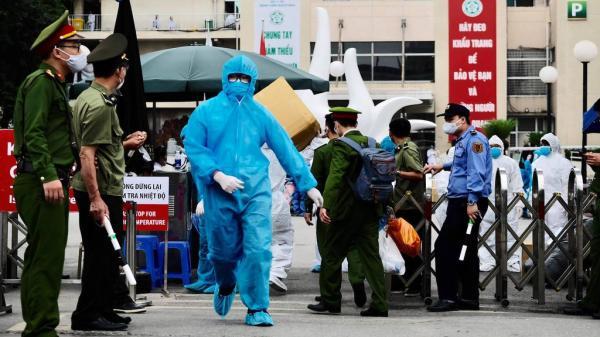 Hà Nội: Phong toả tạm thời khoa Truyền nhiễm của BV Đa khoa Thạch Thất