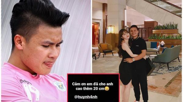 """Xóa hết ảnh Huỳnh Anh, Quang Hải cay đắng: """"Cảm ơn em đã cho anh cao thêm 20cm"""""""