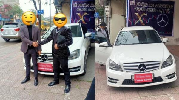 Xôn xao với lễ bàn giao chiếc xe cũ nhưng lại được in giá lên đến 2,1 tỷ, các chủ tịch lũ lượt đến nhận xe: Đỉnh cao phông bạt là đây?