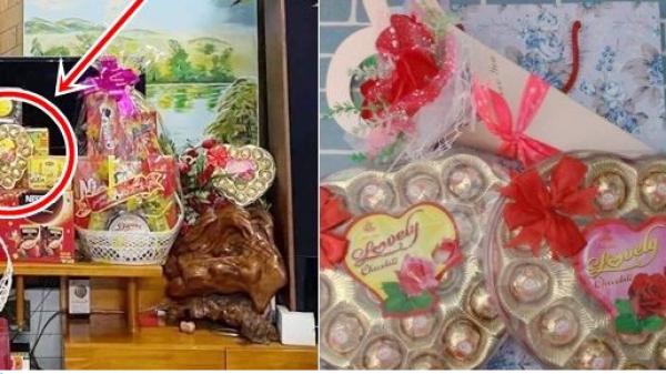 Thanh niên lấy socola trên bàn thờ tặng Valentine, bạn gái âm thầm lên FB hỏi có nên chia tay không