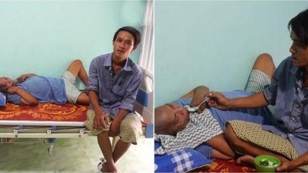 Chồng đón chồng cũ bại liệt của vợ về nhà chăm sóc như anh em ruột