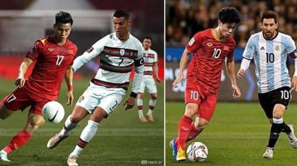 Loạt ảnh chế Việt Nam lọt vào World Cup, đá cùng các siêu sao bóng đá hàng đầu thế giới từ Messi đến Ronaldo