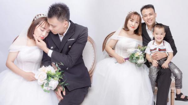 Chuyện tình của mẹ đơn thân tí hon lấy trai tân, gặp, yêu và kết hôn vỏn vẹn trong 1 tháng