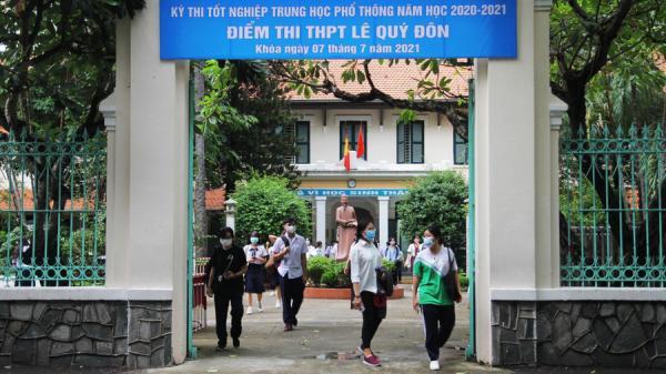 NÓNG: Sở GD-ĐT bác bỏ thông tin thí sinh F0 thi tốt nghiệp THPT ở TP.HCM tử vong