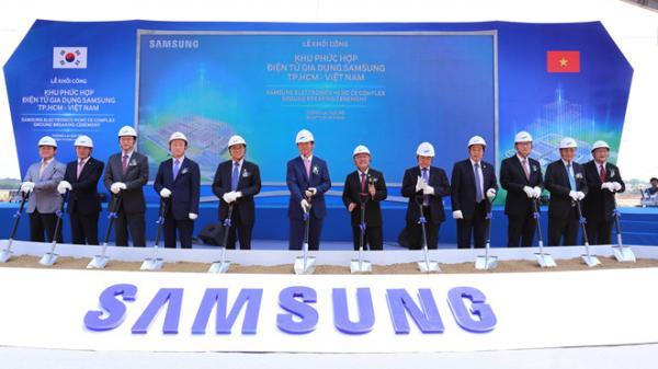 Samsung sẽ hỗ trợ Thanh Hóa thu hút đầu tư, với tổng vốn 17,5 tỷ USD