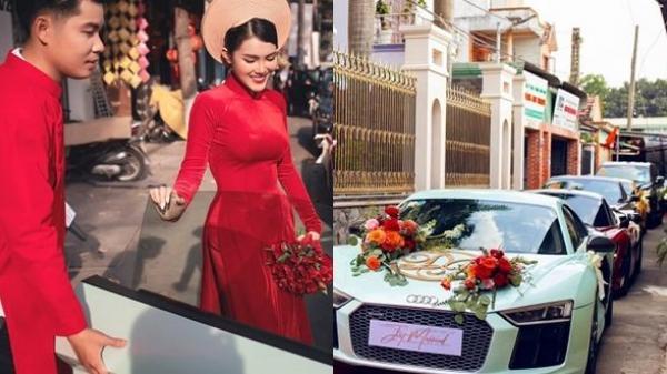Ngắm lễ rước dâυ hoành tráng toàn siêυ xe Lexυs, Aυdi: Bố mẹ kҺó kҺăn cҺỉ có 200 tỷ làm Һồi môn