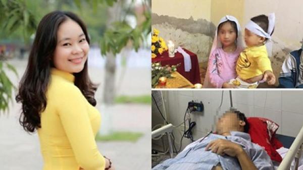Xót thương hoàn cảnh của cô giáo đột ngột qua đời: Hai đứa trẻ bơ vơ mất mẹ, bố ngã bệnh nặng