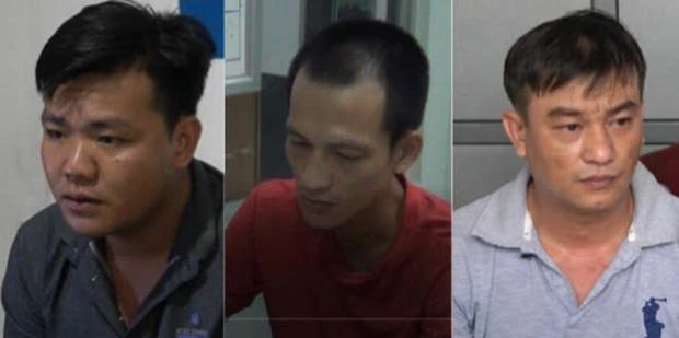 3 nghi phạm trong vụ án (Ảnh: CAND)